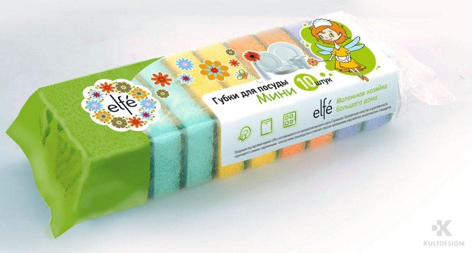Дизайн упаковки ELFE