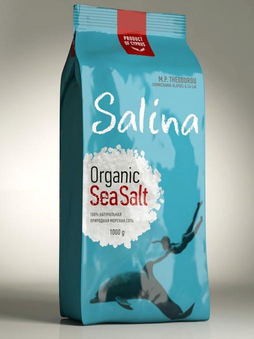 Дизайн упаковки соли SALINA ORGANIC