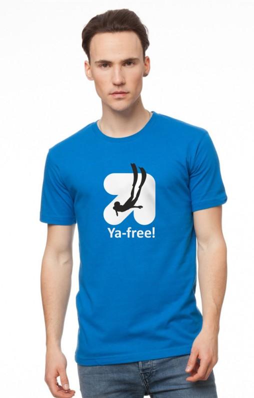 Дизайн логотипа YA-free
